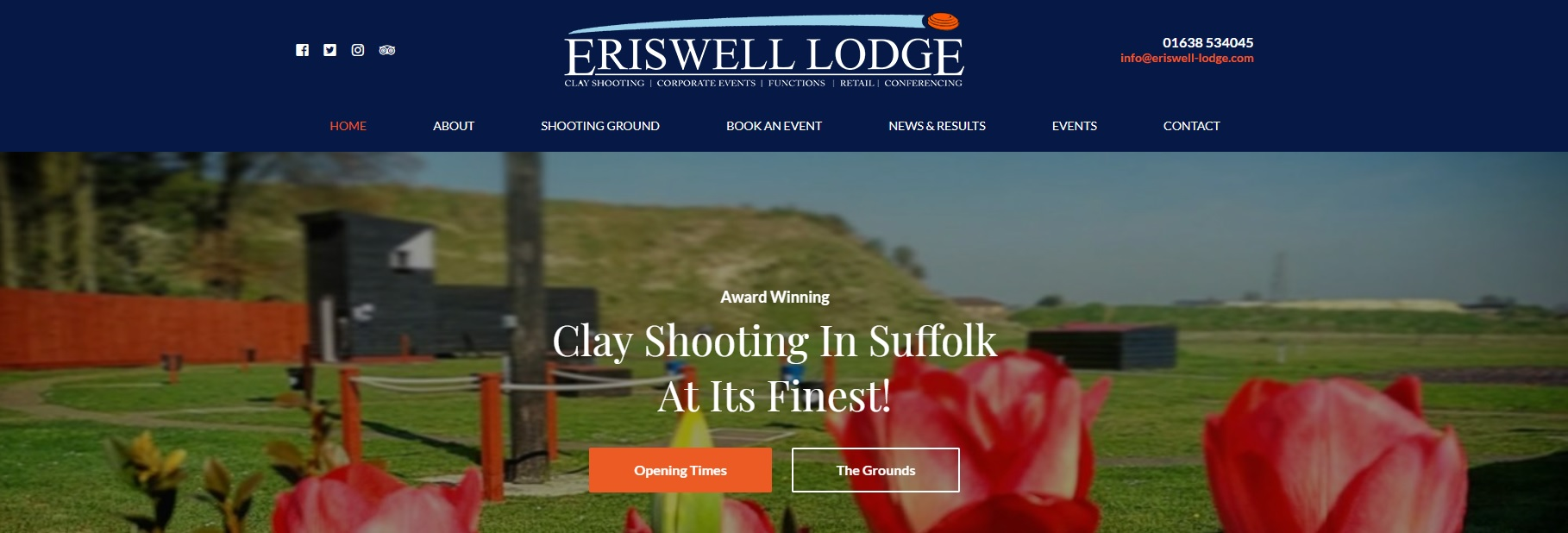 Eriswell Lodge New Website Launched!